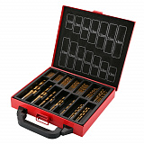 Wood drill set 99 items in Deko DS99 case
